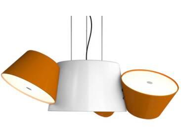 Marset Mini-luminaire TAM TAM - blanc crème - orange