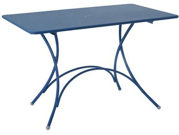 Emu Table pliante rectangulaire Pigallet - bleu