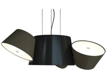 Marset Luminaire TAM TAM 3 - gris-marron - noir
