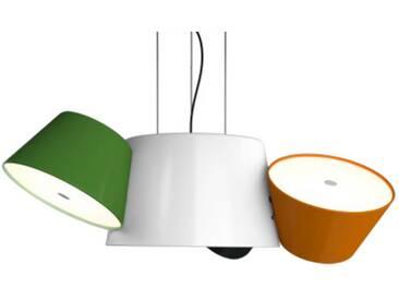 Marset Luminaire TAM TAM 3 - orange, vert et noir - blanc crème