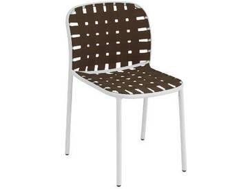 Emu Chaise yard - blanc/marron