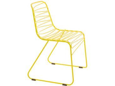 Magis Chaise Flux - jaune