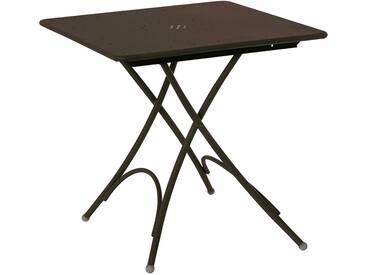 Emu Table pliante petite Pigalle - marron foncé