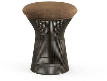 Knoll International Platner Hocker - Circa taupe - Bronze, metallic