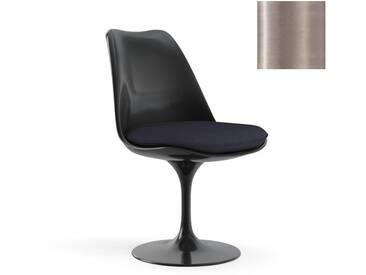 Knoll International Saarinen Tulip Stuhl - Coque dassise complètement rembourrée - KnollDrehbar - Eva - Eva- beige - noir