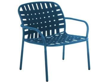 Emu Fauteuil lounge Yard - bleu
