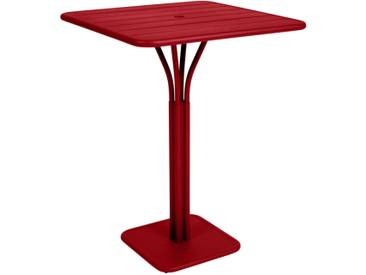 Fermob Table haute LUXEMBOURG - 67 rouge coquelicot satiné