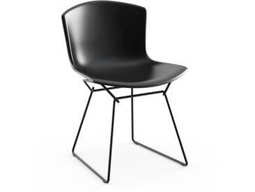 Knoll International Bertoia Plastic Side Chair - noir - noir