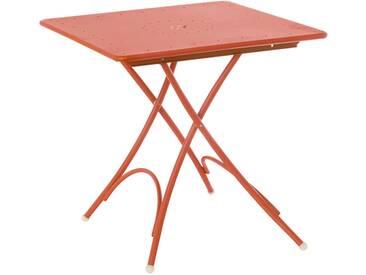 Emu Table pliante petite Pigalle - rouge