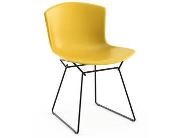 Knoll International Bertoia Plastic Side Chair - jaune - noir
