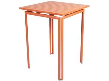 Fermob Table haute COSTA - 27 carotte satinée