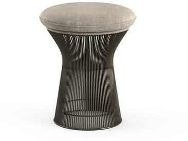 Knoll International Tabouret Platner  - Circa - argent - peinture bronze métallisé