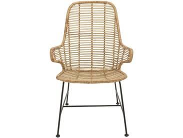 Bloomingville Lake Lounge Chair, Nature, Rotin