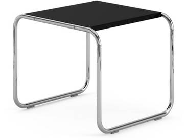 Knoll International Table Breuer Laccio  - Stratifié noir - 55 x 45 x 48 cm