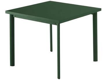 Emu Table Star - vert foncé - 90 x 90 cm