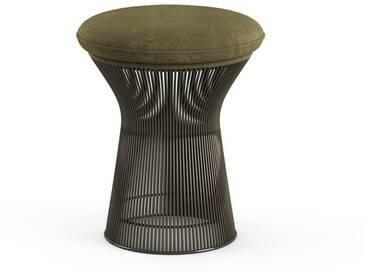 Knoll International Tabouret Platner  - Circa - olive - peinture bronze métallisé