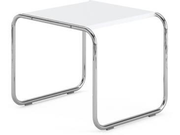 Knoll International Table Breuer Laccio  - Stratifié blanc - 55 x 45 x 48 cm