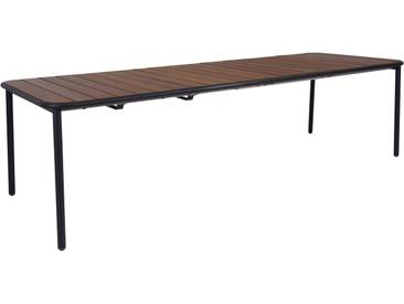 Emu Table Yard - frêne - L (extractible) - noir