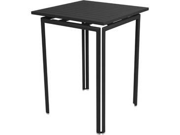 Fermob Table haute COSTA - 42 réglisse mat
