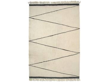 Bloomingville Tapis en Laine - BloomingvilleWollteppichMuster2 - 200 x 300 cm