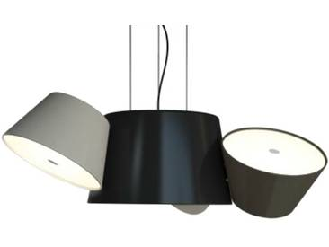Marset Mini-luminaire TAM TAM - gris et sable - noir