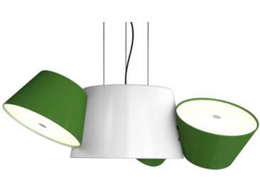 Marset Luminaire TAM TAM 3 - vert - blanc crème