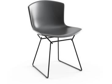 Knoll International Bertoia Plastic Side Chair - gris - noir