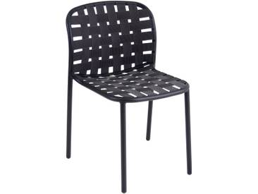 Emu Chaise yard - noir / noir-gris
