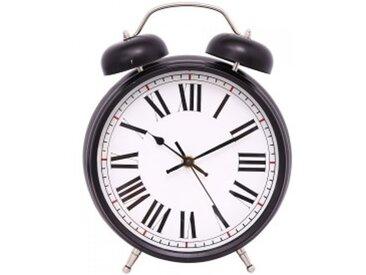 Horloge à poser Réveil Noire