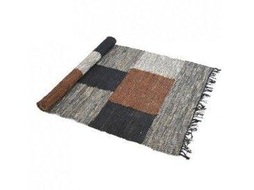 Tapis patchwork (180 cm) Totem Beige Naturel