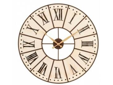 Horloge Cadran Beige