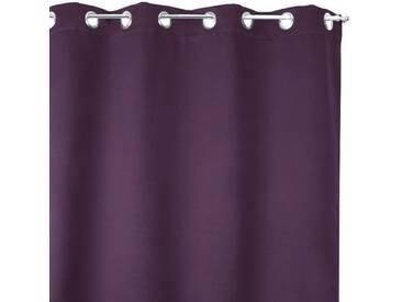 Rideau obscurcissant isolant Calore (140 x H180 cm) Violet prune