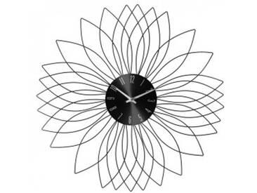 Horloge Rosace Noir
