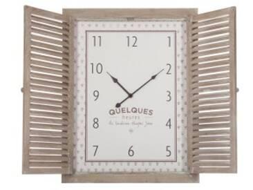Horloge Vent Beige