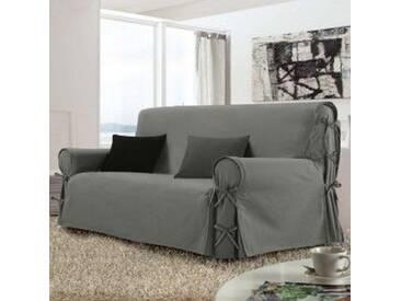 Housse de canapé 3 places Stella Grise