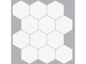 Lot de 2 planches stickers relief Caro Blanc