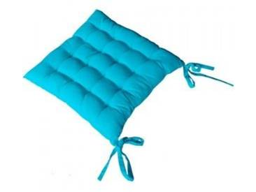 Coussin de chaise Etna Turquoise