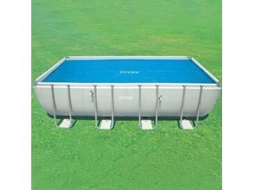 Bâche à bulles (L5.49 m) pour piscine rectangulaire - Intex