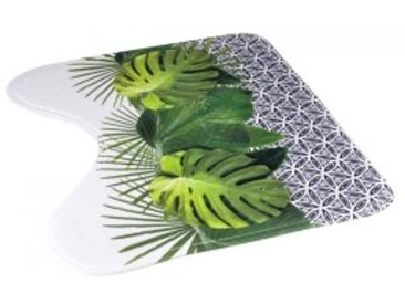 Tapis contour WC Jungle Vert