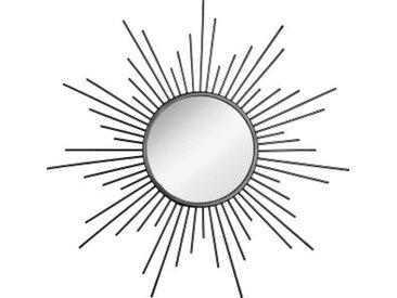 Lot de 3 miroirs Soleil Noir