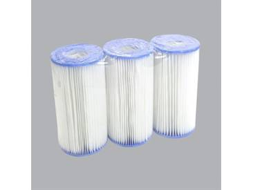 Lot de 3 cartouches de filtration Type A - Intex