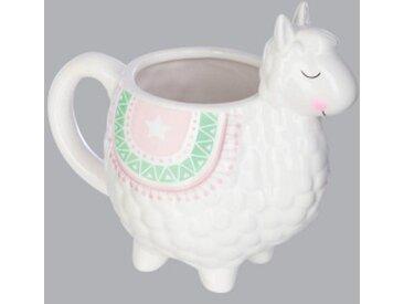 Mug Lama Blanc