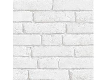 BRIQUES - papier peint blanc