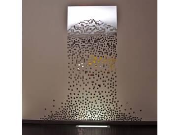 SUGAR MIRROR - miroir 215 x 230 cm - Couleurs - argent