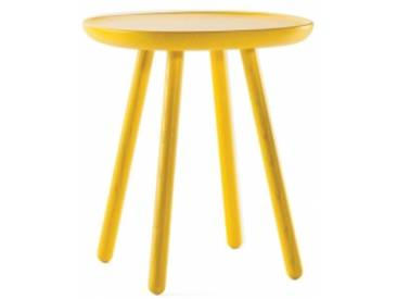 NAIVE - table basse 45 x 45 x H 50 cm - Couleurs - jaune