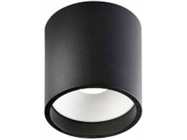 SOLO - plafonnier ø 8 cm - Couleurs - noir