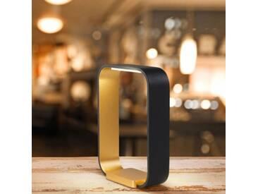 CODE - lampe led tactile - Couleurs - noir / or