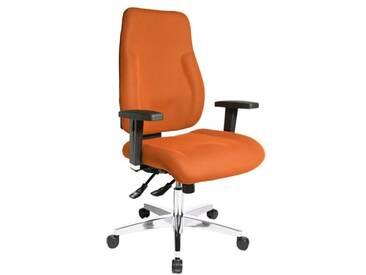 Topstar PI99GBC4 P91 Chaise de Bureau Orange 48 x 48 x 111 cm