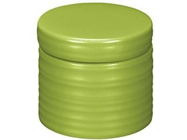 Kleine Wolke Sahara Boîte à coton  en Céramique Vert 8 x 9 cm