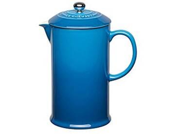 Le Creuset Cafetière à piston 0,8L bleu marseille